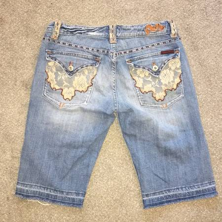 Photo Miss Me Jeans Shorts Size 31 - $40 (Connell)