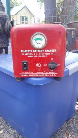 Photo Rare Battery Charger sears and roebuck - $75 (Stanfield)