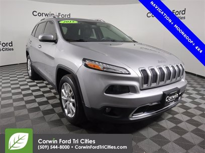 Photo Used 2015 Jeep Cherokee 4WD Limited w Luxury Group for sale