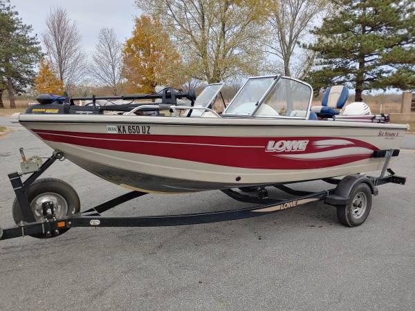 Photo 2003 Lowe 170 WT w 90 Hp - $8,500 (Olathe, KS)