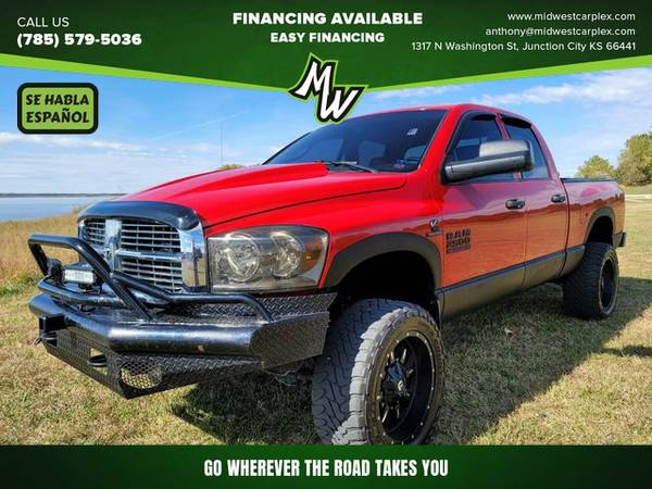 Photo 2008 Dodge Ram 2500 Quad Cab - Financing Available - $20995.00 (Junction City)