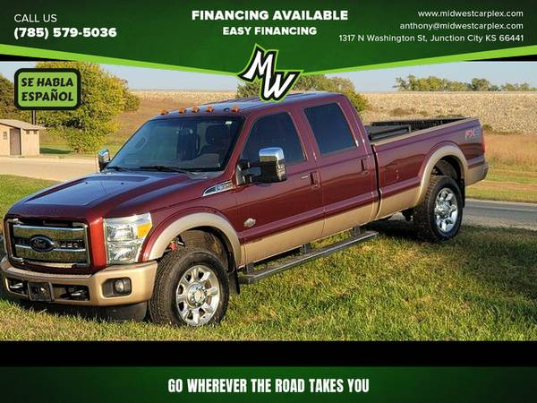 Photo 2012 Ford F350 Super Duty Crew Cab - Financing Available - $30995.00 (Junction City)