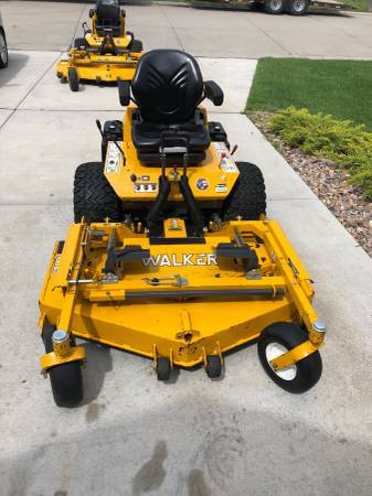 Photo 2016 Walker H27i Mower - $6,500 (Hesston, KS)