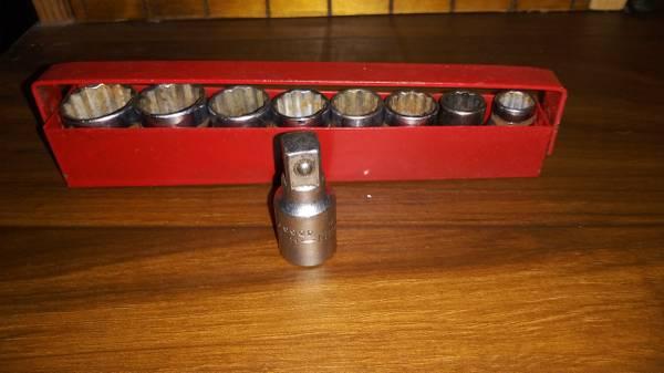 Photo 8 Piece Craftsman Socket Set - $25 (Kansas City)