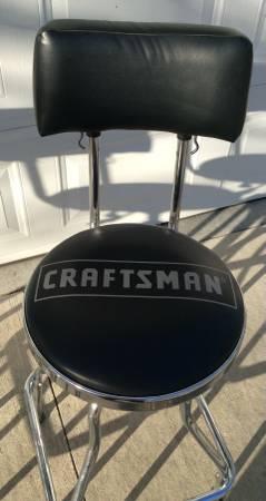 Photo CRAFTSMAN Shop Bar Style Chairs - $90 (Wamego)