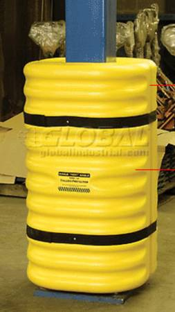 Photo EAGLE 1708 8quot COLUMN I-BEAM PROTECTOR, YELLOW - $35 (Blue Springs)