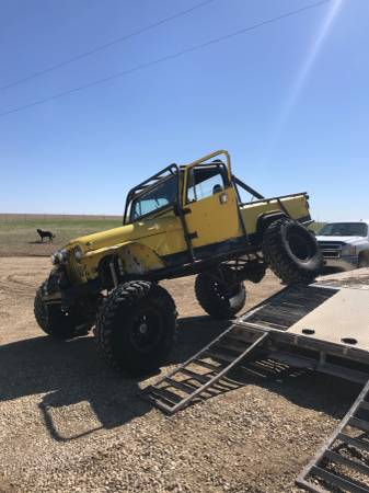 Photo Jeep Scrambler rock crawler - $8800 (Randolph)