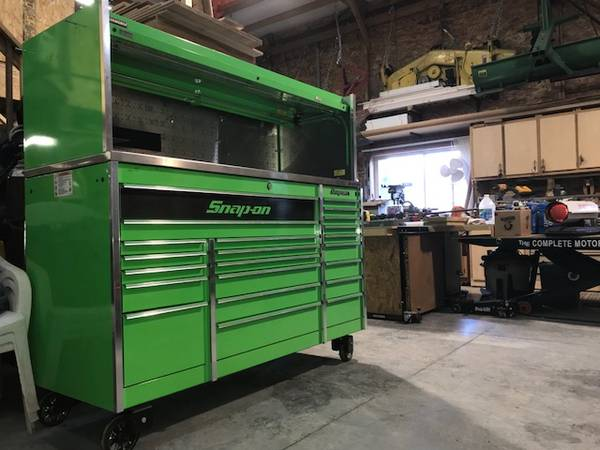 Photo SNAP ON 72quot LONG TOOL BOX  HUTCH - $12,500 (KC METRO by SPEEDWAY)