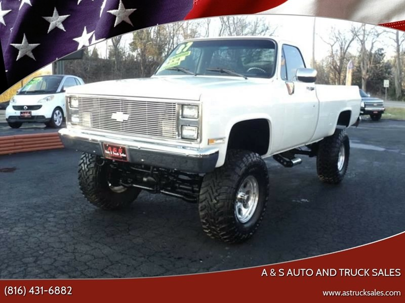 Photo Used 1987 Chevrolet CK Truck 4x4 Regular Cab 1500 for sale
