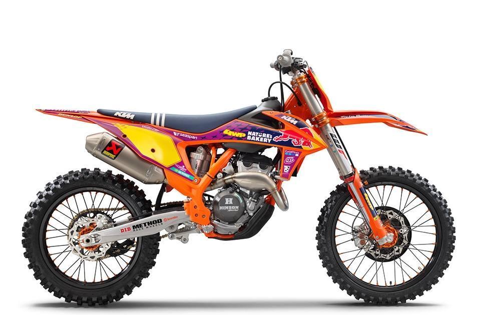 Photo 2021 KTM 250 SX-F TROY LEE DESIGNS $10299