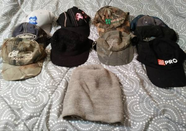 Photo 10 ties, 22 pairs of socks, 16 hats, and 6 handkerchiefs - $5 (SPARTA)