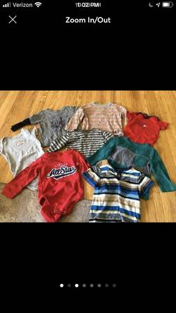 Photo 18 Month Toddler Boy Onesie Shirt Fall Clothing Lot - $8 (Winona or Onalaska)