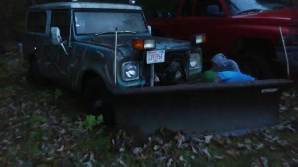 Photo 1969 IHC Scout  91 jeep - $4,500 (CashtonSparta)