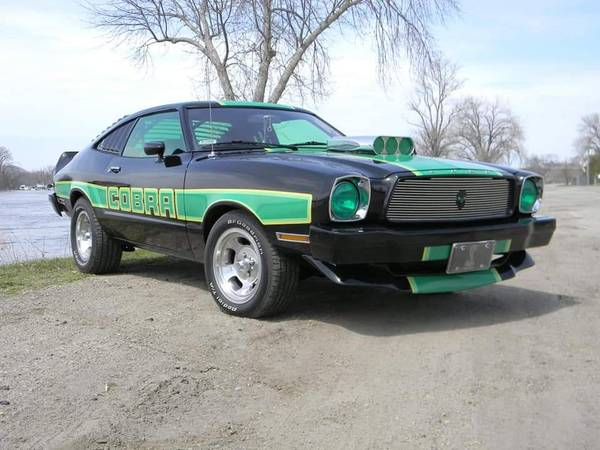 Photo 1978 Ford Mustang Cobra - $9000 (Sparta)