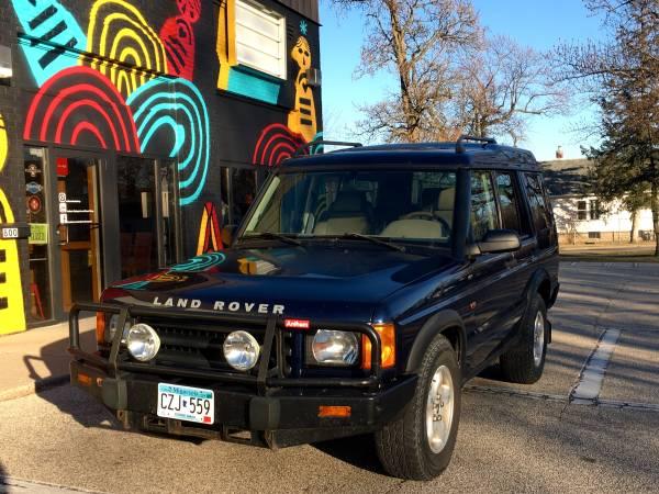 Photo 2002 Land Rover Discovery II - $6,500 (Winona, MN)