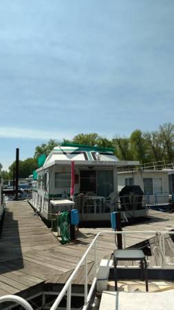 Photo 46-foot Houseboat For Sale - $12,000 (La Crosse)