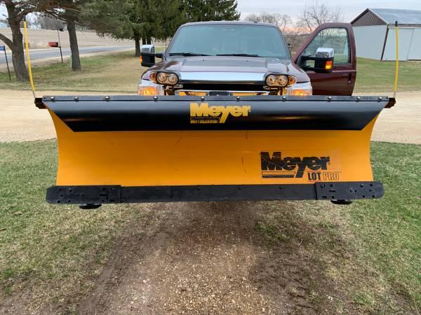 Photo 8 foot meyer snowplow or snow plow - $3,500 (Coon Valley)