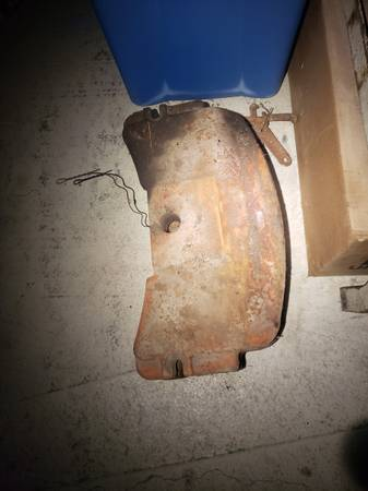 Photo Allis Chalmers AC WD WD45 D series slab weights (Lawler)