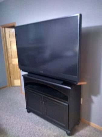 Photo Big Screen TV  Stand - $400 (Muscoda, WI)