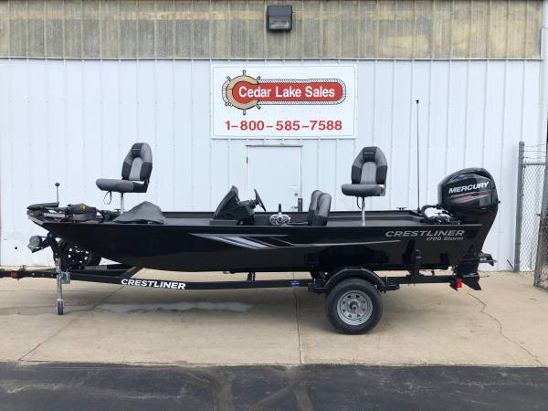 Photo CRESTLINER ALL WELDED ALUMINUM FISHING BOATS, BRAND NEW 2019 MODELS (West Bend)