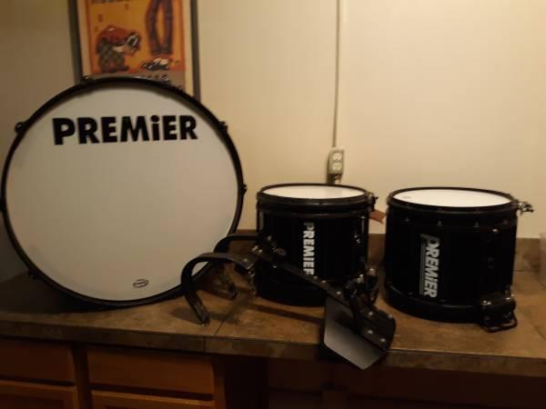 Photo Drums Premier marching collection (La Crosse)
