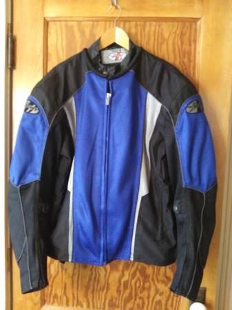 Photo Joe Rocket Motorcycle Riding Jacket Mesh wPads XL - $75 (West Salem)