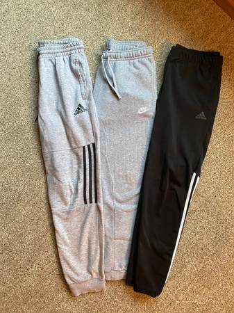 Photo Men39s Nike  Adidas Joggers - $12 (LaCrosse)