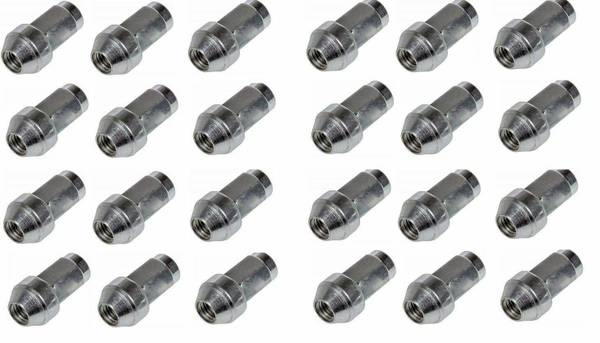 Photo New 24 Ford F150 Expedition 14x2 Factory OEM Stainless Lugs Lug Nuts 4 - $40 (Holmen)