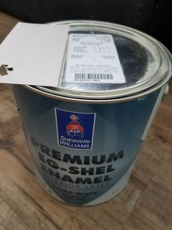 Photo New gallons of Sherwin Williams paint - $18 (Lacrossecoon)