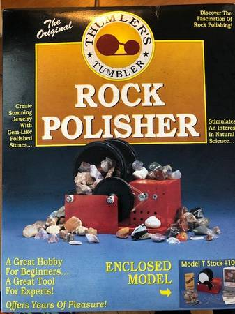 Photo Thumler39s Tumbler Rock Polisher Model T - $50 (Soldiers Grove)