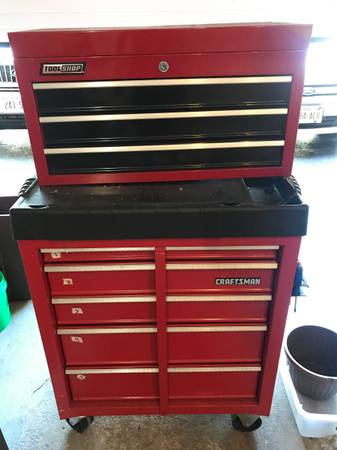 Photo Tool box chests with tools - $1,000
