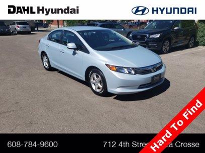 Photo Used 2012 Honda Civic Natural Gas Sedan for sale