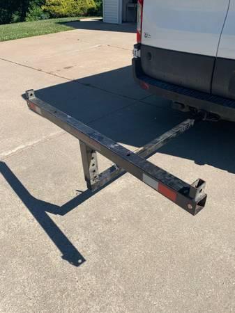 Photo truck bed extender - $40 (Viroqua)