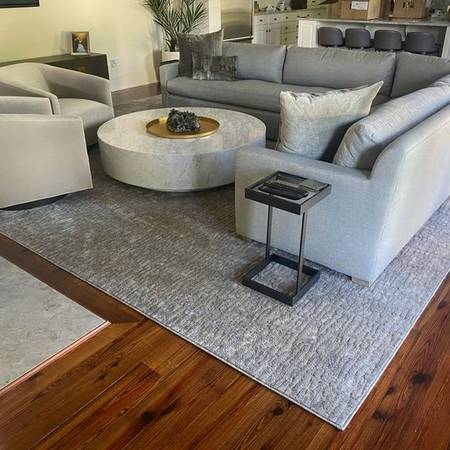 Photo 12X15 Grey Rug and Rug Pad for sale - $500 (Lafayette)