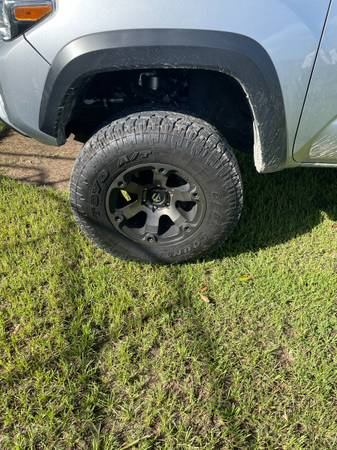 Photo 17 inch fuel wheels and tires - $1,200 (Lafayette)