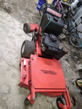 Photo 36quot gravely pro gear walk behind commercial lawn mower - $2,700 (Lafayette)