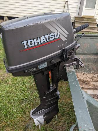 Photo 9.8 HP Tohatsu Outboard - $600 (Church Point)