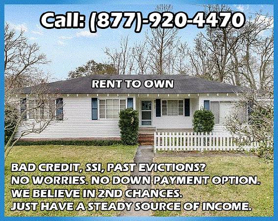 Photo Clean, conveniently located house,Two bedrooms House for rent..... (lafayette, LA)