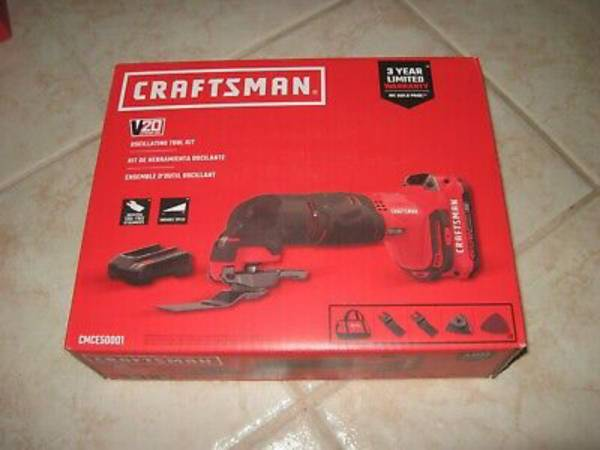Photo Craftsman 20V Max Oscillating Multi-Tool And Kit - $50 (Lafayette)