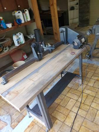 Photo Craftsman wood lathe - $650 (Baton Rouge)