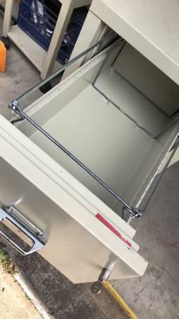 Photo Fire King 2 drawer fireproof file cabinet - $400 (Lafayette)