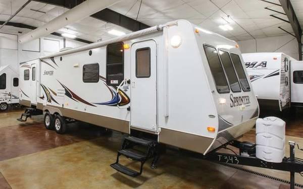 Keystone Sprinter 318FLS Used 4 Season Travel Trailer ...