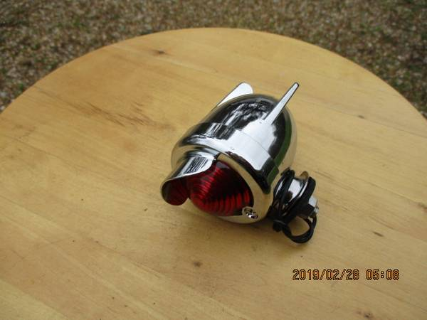 Photo New Chrome LowRider, etc, Tail Light-Has a Wire to Attach to a Battery - $29 (Marksville, La)