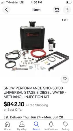 Photo Snow performance universal water methanol injection kit for diesel - $600 (Pearl River)