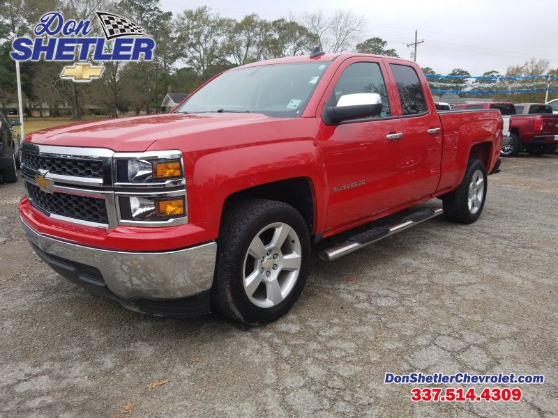 Photo Used 2015 Chevrolet Silverado 1500 Extended Cab LS for sale