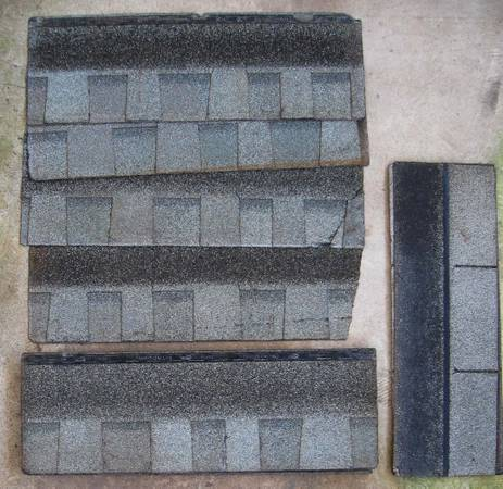 15 - Roof shingles for dog house, repairs etc - FREE (La Marque)
