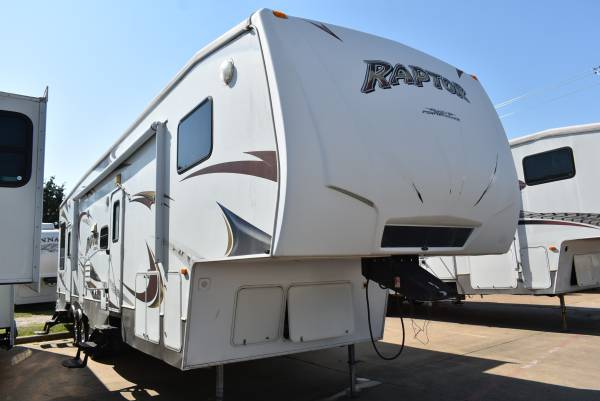 Photo 2010 Raptor 361LEV Toy Hauler BAD CREDIT FINANCE DEALER (IN HOUSE FINANCING)