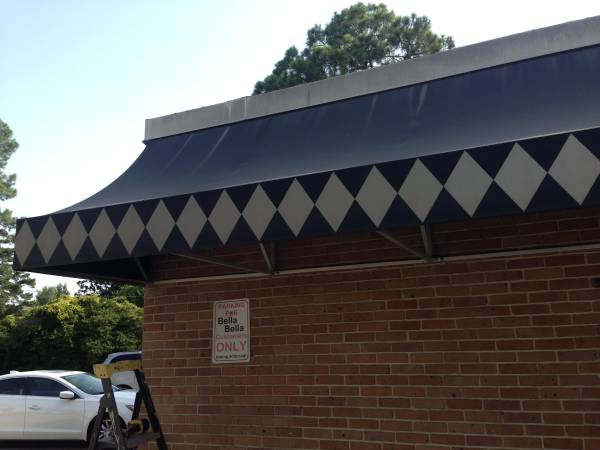 Photo 60 foot commercial Awning. 3 20 foot frames and Awning itself. - $1,000 (Baton Rouge)