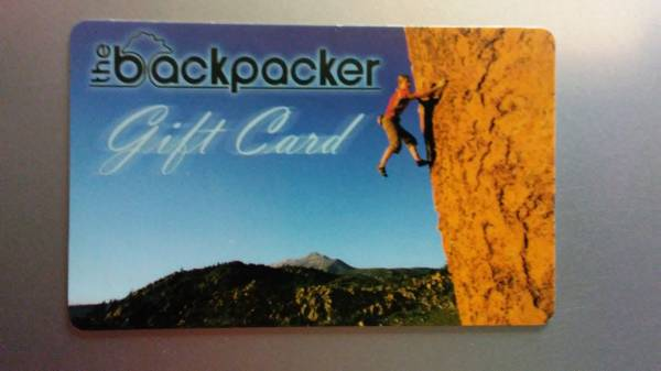 Photo Backpacker Gift Card - $80 (Lafayette)
