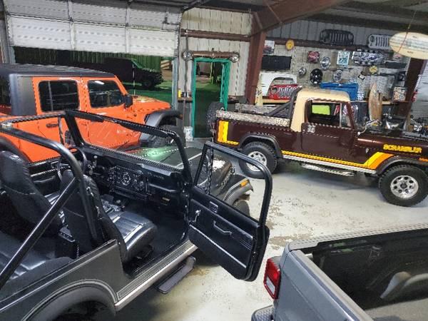 Photo CJ7 Laredo, CJ8 Scrambler, LJ Unlimited  Custom Built Gladiator Jeeps (Houston)